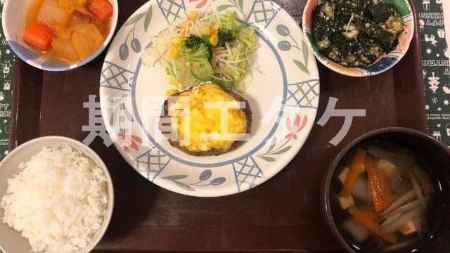 鷲塚寮夕食01