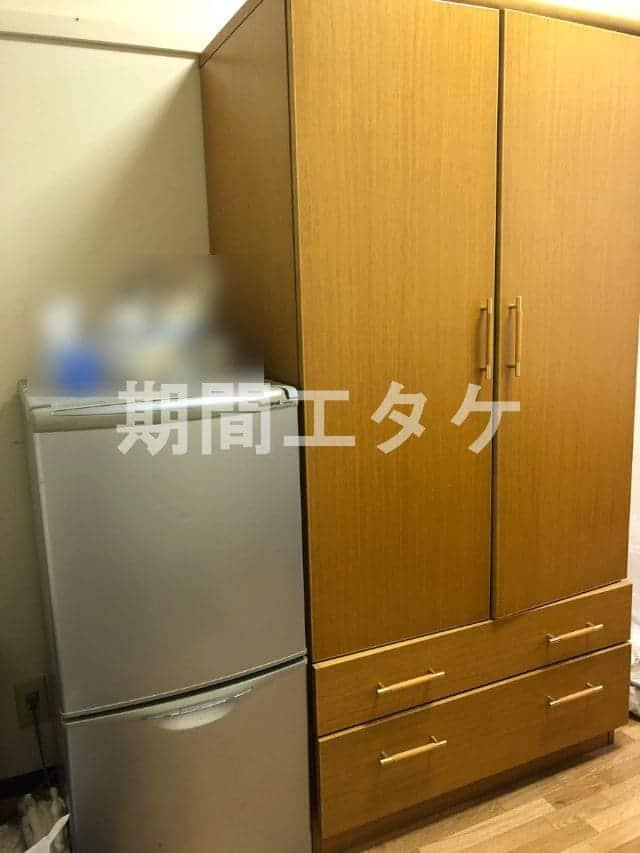 緒川寮クローゼット冷蔵庫