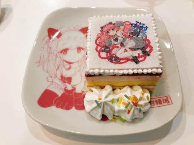 アキバ絶対領域ケーキ