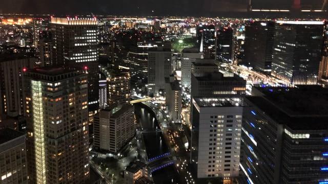 タワーマンション夜景