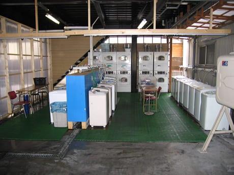 橋目寮洗濯機
