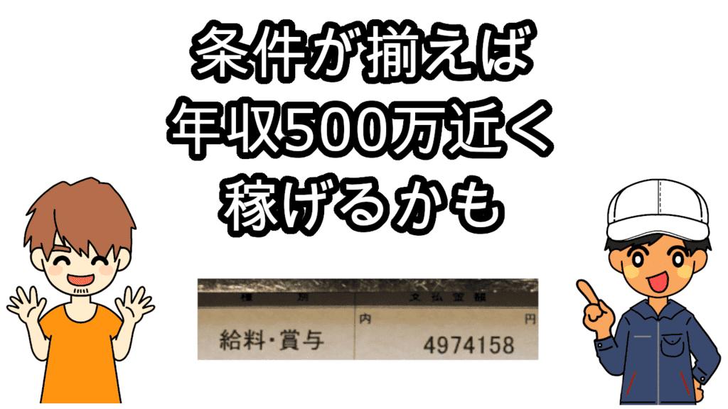 豊田自動織機年収500万