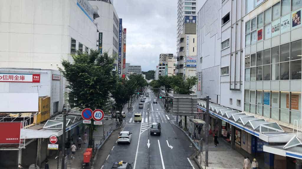 横須賀中央駅前