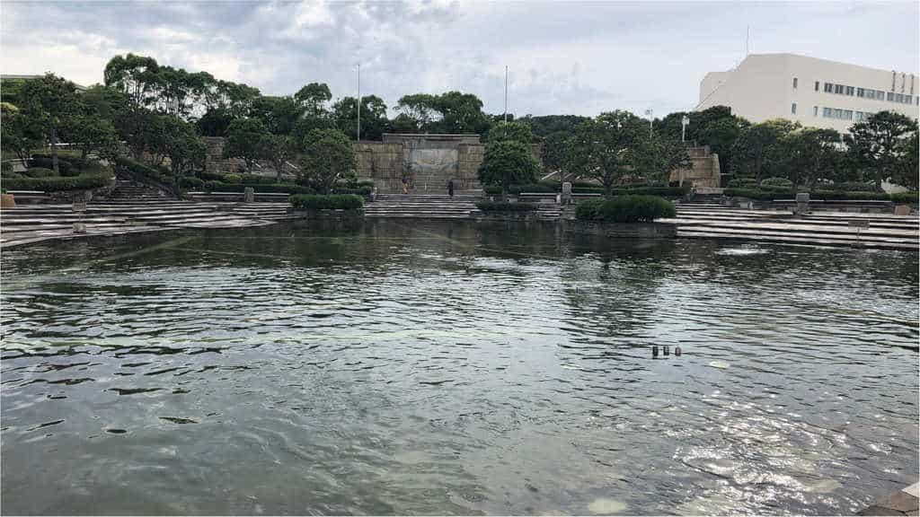 三笠公園池