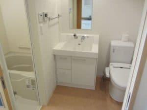 追浜西ドミトリートイレ風呂洗面台