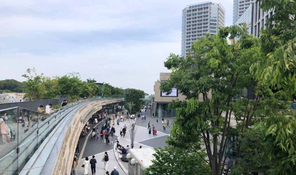 二子玉川駅前