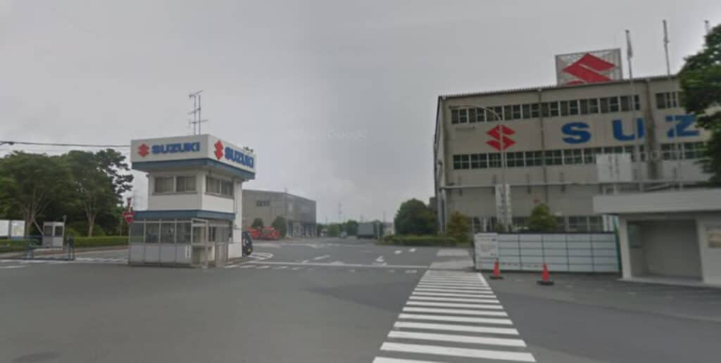スズキ湖西工場
