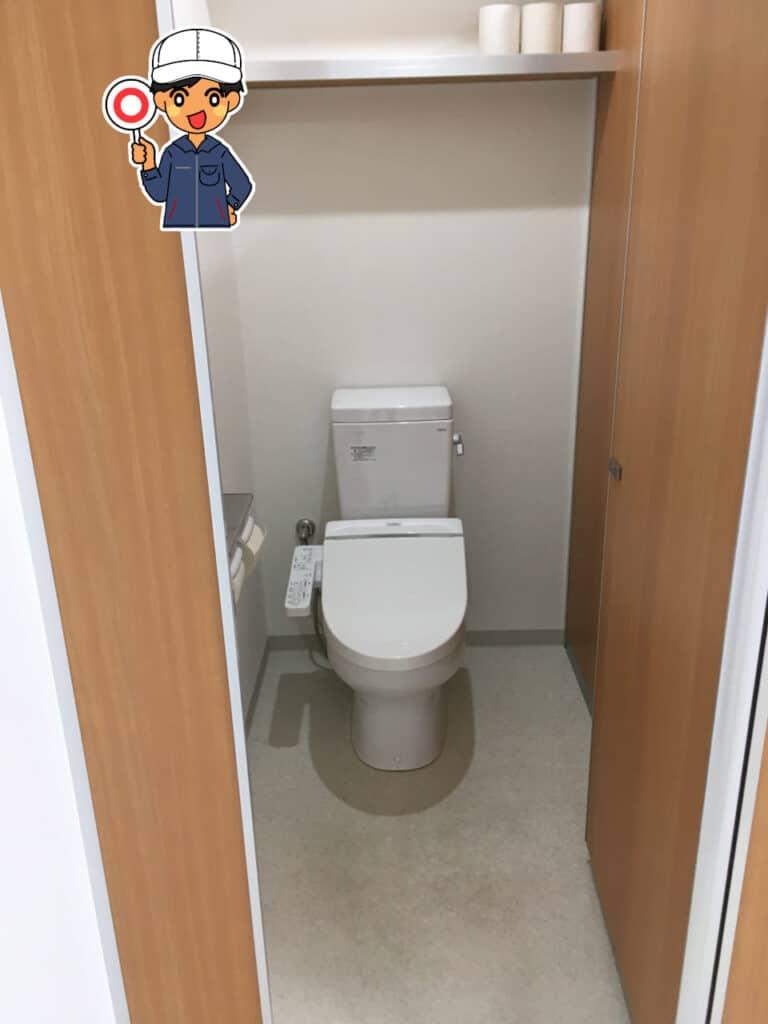 土井寮トイレ