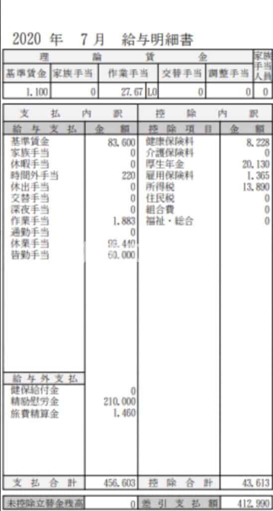 日産九州期間工給料202007